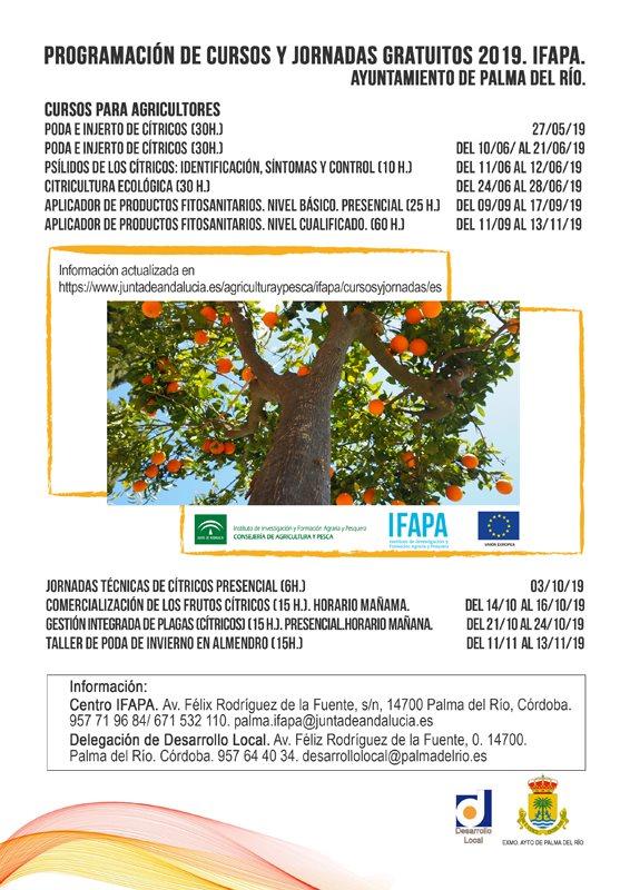 Cursos gratuitos IFAPA